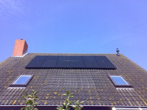 Zonnepanelen in Stavoren