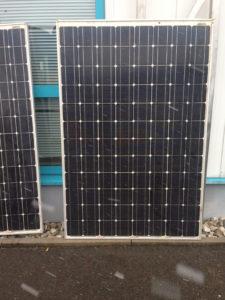 Gebruikte zonnepanelen