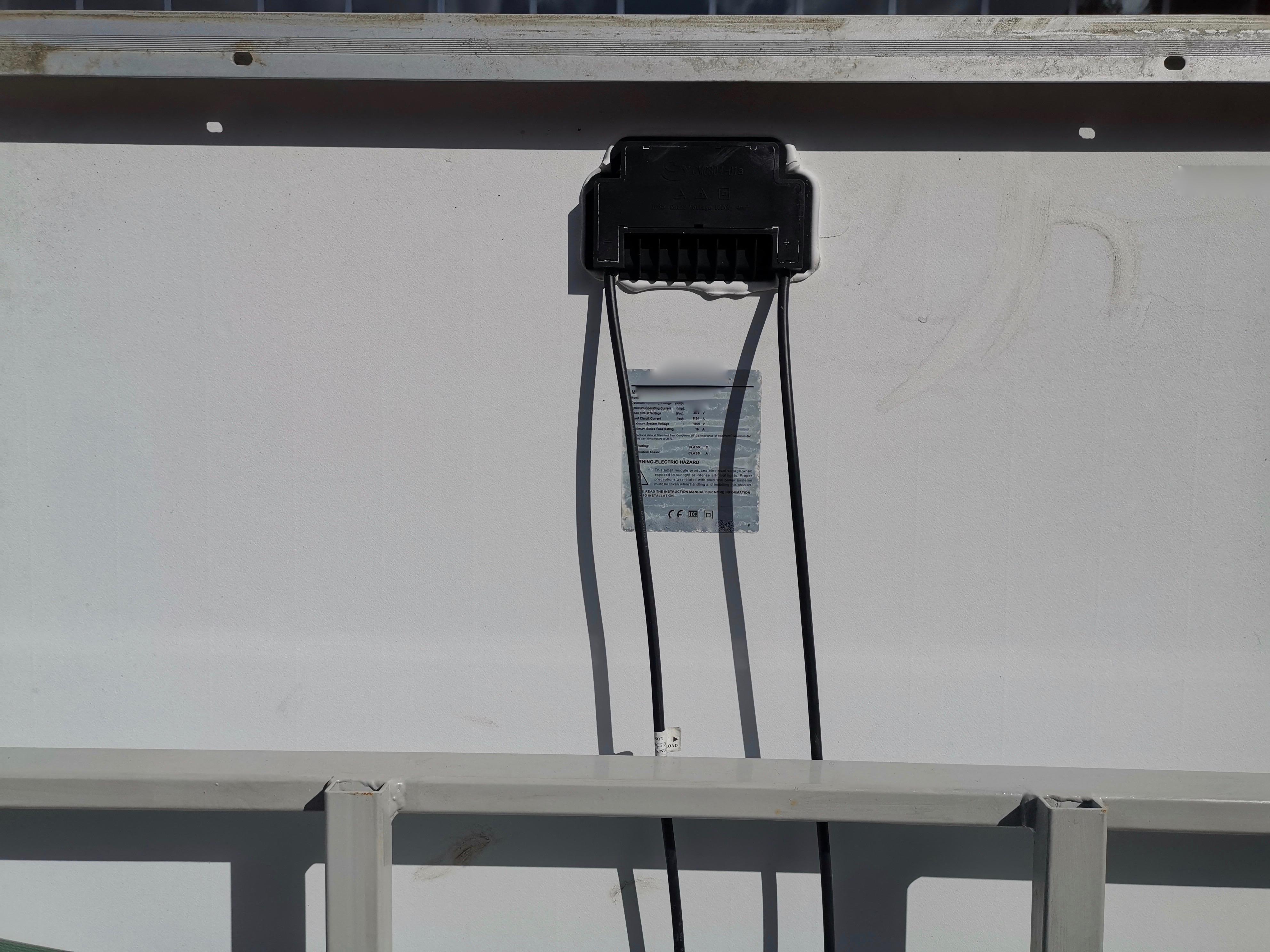 Used solar panels